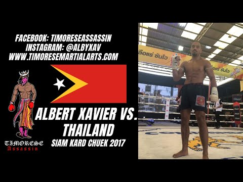 Albert Xavier vs Thailand