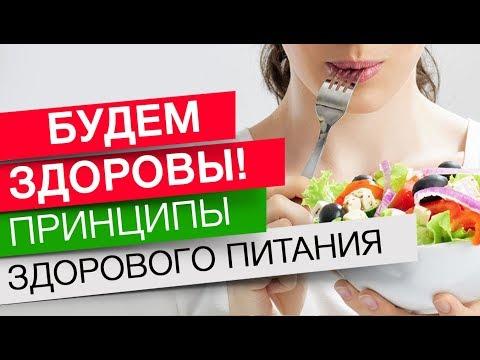 Будем здоровы! Принципы здорового питания.