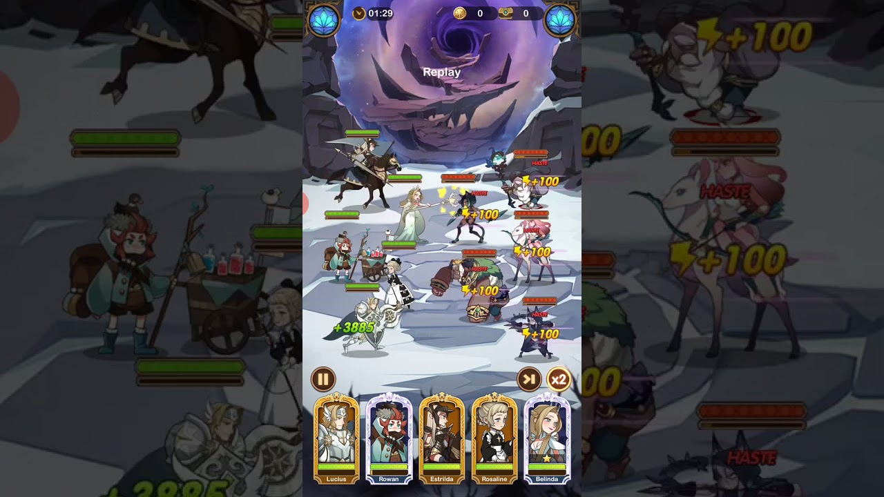 AFK Arena 26-58, f2p alt, gears/trees at the end - YouTube