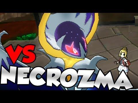 NECROZMA vs SOLGALEO / LUNALA CUTSCENE - Pokemon Ultra Sun and Pokemon Ultra Moon Story!