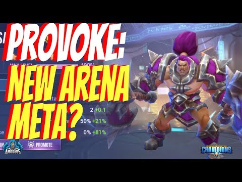 Dungeon Hunter Champions: Provoke | New Arena Meta?