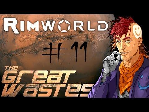 Rimworld A16 - 'The Great Wastes' Ep11: INTERIOR DESIGN