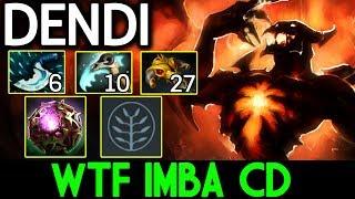 DENDI Dota 2 [Shadow Fiend] WTF IMBA CD ITEM !