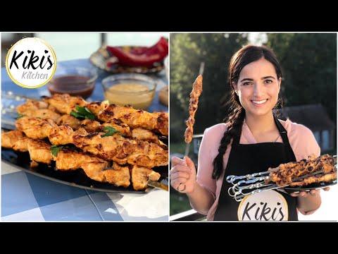 Hähnchenspieße - wie bleiben sie schön saftig? Leckere Joghurtmarinade für Hähnchenbrust   Tavuk Sis