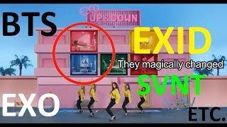 MISTAKES IN KPOP MUSIC VIDEOS PART 6 (SPECIAL EDITION AGAIN)