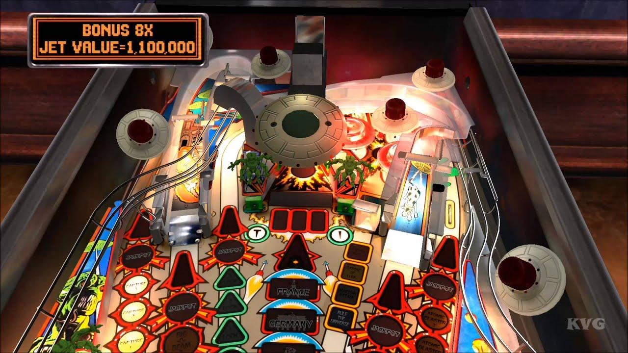 The Pinball Arcade Gameplay (Xbox One HD) [1080p]