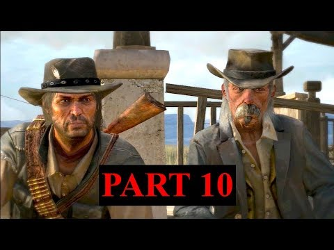 Red Dead Redemption Playthrough - Part 10 - Welcome To Mexico (Commentary)