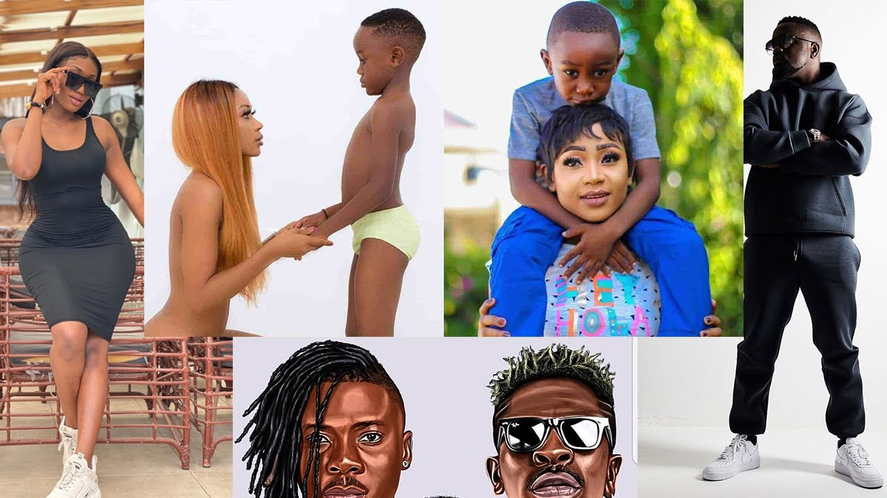Akuapem Poloo Goes N@ked Infront Of Son & Wendy Shay Joins Sarkodie, Shatta & Stonebwoy In 4S Team