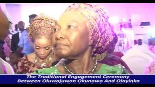 PRINCE OLAGUNSOYE OYINLOLA AND BUKOLA OKUNOWO SHAKE LAGOS WITH MARRIAGE OF THEIR CHILDREN