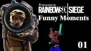 Late Night Siege | Rainbow 6 Siege Funny Moments (Warning: Adult Jokes)