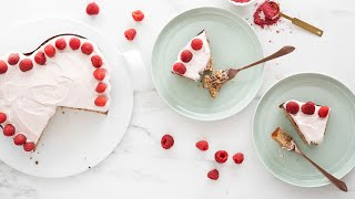 Almond Flour Raspberry Cake (Gluten-Free, Paleo-Friendly)