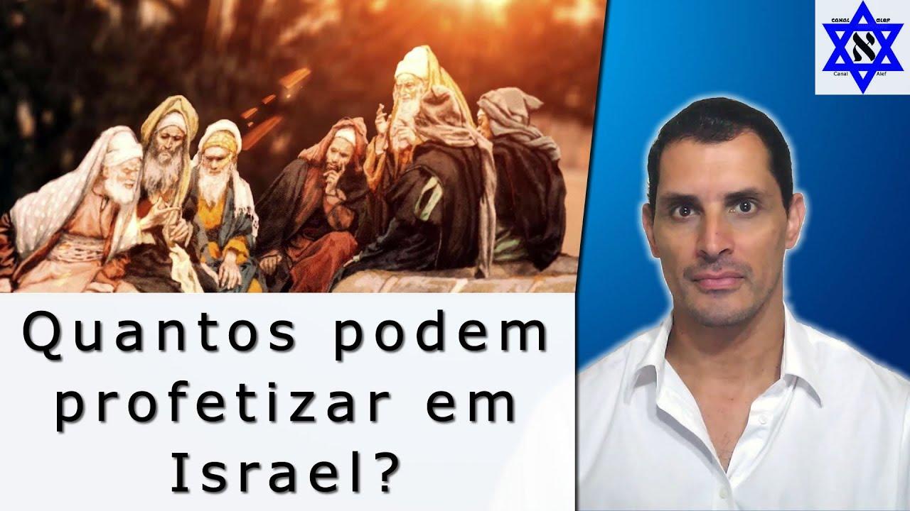 Quantos podem profetizar em Israel? - Canal Alef