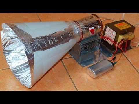 Debunking Kreosan's EMP Gun From A Microwave Oven Magnetron + Stun Gun