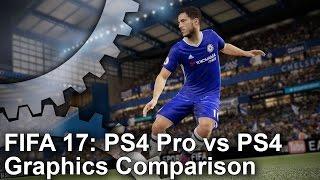 [4K] FIFA 17 PS4 Pro vs PS4 Graphics Comparison