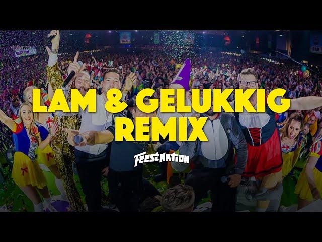 DJ Maurice - Lam & Gelukkig [FEESTNATION REMIX]