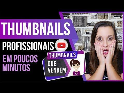 Como criar THUMBNAIL PARA YOUTUBE [MINIATURA de VÍDEO] - THUMBNAILS QUE VENDEM  Mafalda Melo