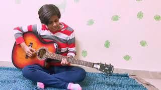 Guitar Cover Ajib Dasta Song   Guitar play by Rishita Mishra   Sidhmayi