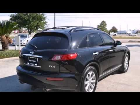 Used 2008 Infiniti FX35 Houston TX 77090