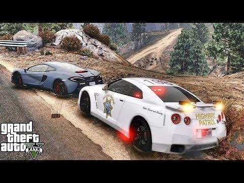 GTA 5 MODS LSPDFR 1009 - GTR HIGHWAY PATROL!!! (GTA 5 REAL LIFE PC MOD)