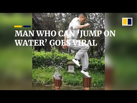 Chinese Man Who Can 'jump On Water' Goes Viral