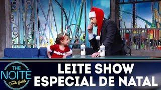 Leite Show especial de natal | The Noite (18/12/17)