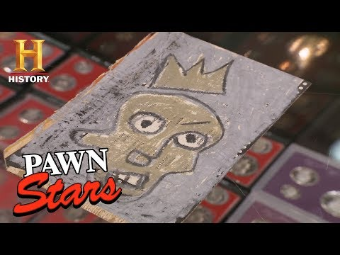 Pawn Stars: The JeanMichel Basquiat Postcards  History