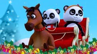 Jingle campane | Canzone di Natale | 3D bambini rime | Xmas for Kids | Baby Bao Panda | Jingle Bells