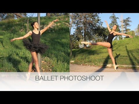 DIY BALLET PHOTOSHOOT | natalie danza