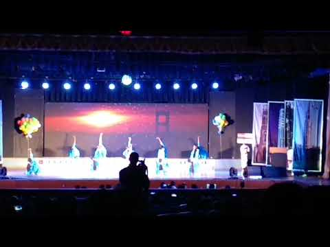 Dance performed on Indian Navy...