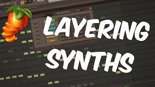 FL Studio Beginners Tutorial 6   Layering Synths / Tips In FL Studio