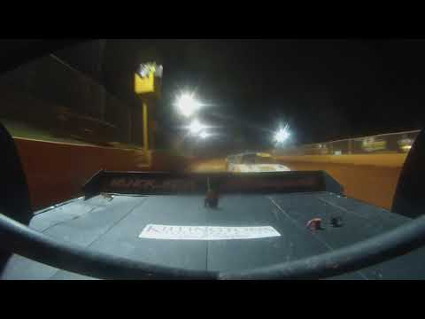 East Lincoln Speedway 8-17-19 Pro 4 Rear Cam Main Event 2of2 Alexus Motes