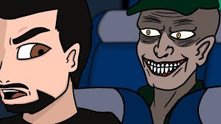 I Met A Serial Killer On The Bus (Animated Horror Story)
