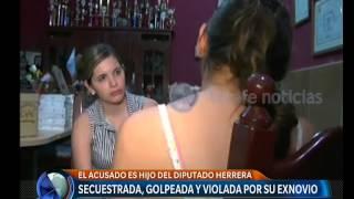 secuestrada golpeada y violada por su ex pareja telefe noticias