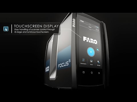 Features of Focus S 350 Laser Scanner explained