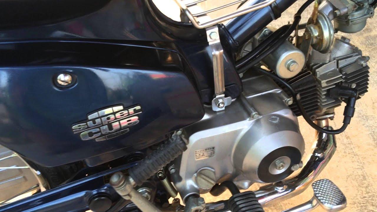 honda cub custom 70cc honda super cub with loop control
