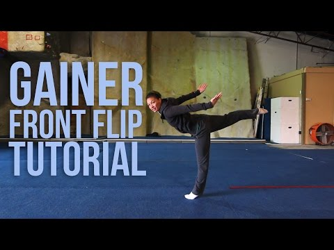 How To Do A Gainer Front Flip Webster  Jessica MiyagiMiyagi Gymnastics