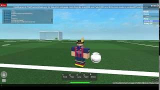 Roblox- Learn skills with Neymar