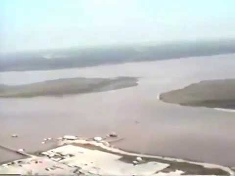 San Jacinto River Flood and Pipeline Fire October 1994 Part 2