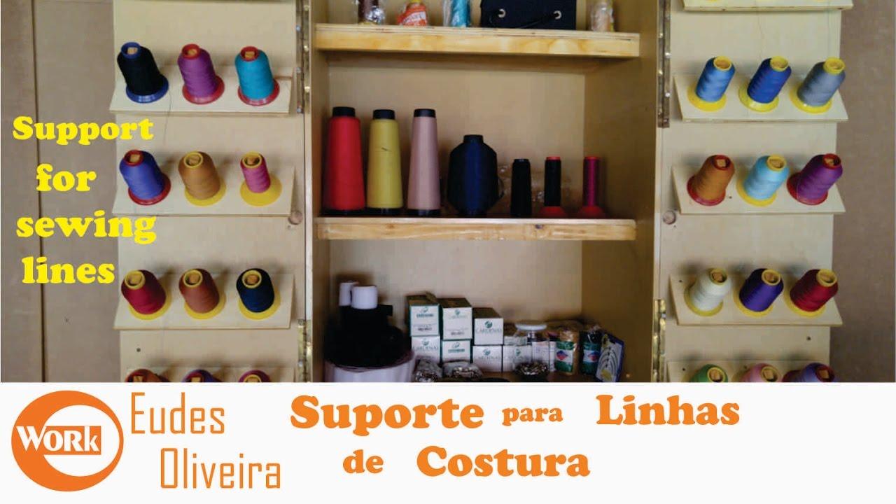 Suporte Para Linhas De Costura / Support For Sewing Lines