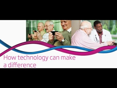 Designing better care for older people: how technology can make a difference