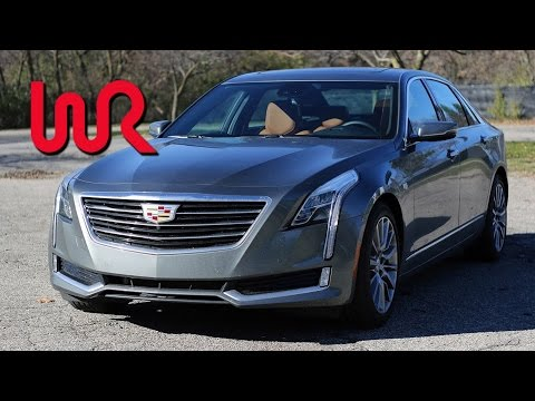 2017 Cadillac CT6 2.0L Turbo – WR TV POV Test Drive and Review