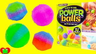 DIY Make Glow In the Dark Bouncy Power Balls