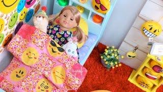 American Girl Morning Routine ~ Emoji Bedroom