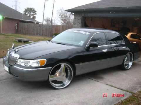 lincoln town car on 24 youtube. Black Bedroom Furniture Sets. Home Design Ideas