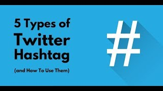 How to use it twitter #hashtag Explained in Detail || What is hashtag 2018!!