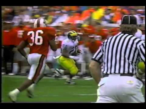 1994 Hall of Fame Bowl #22 Michigan vs. NC St.