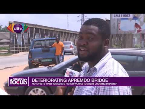 Apremdo road motorists are asking for an immediate repair of the deplorable road