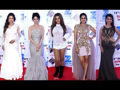 Zee Rishtey Awards - Divyanka Tripathi, Ankita Lokhande, Rakhi Sawant, Sargun Mehta, Adaa Khan