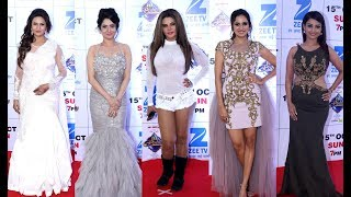 Zee Rishtey Awards 2017 - Divyanka Tripathi, Ankita Lokhande, Rakhi Sawant, Sargun Mehta, Adaa Khan