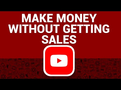 Earn Affiliate Commissions From YouTube Without Getting Sales (Make Money Online)
